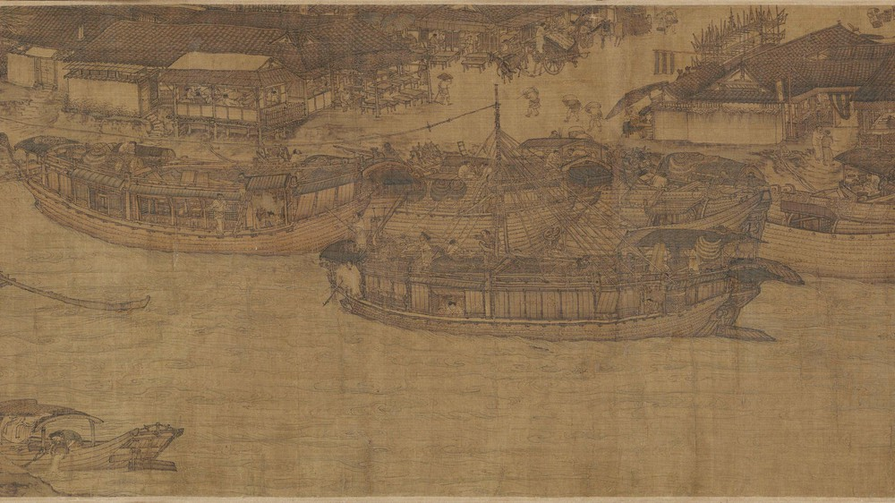 The Qingming Spring Festival Along the River (Section 5)