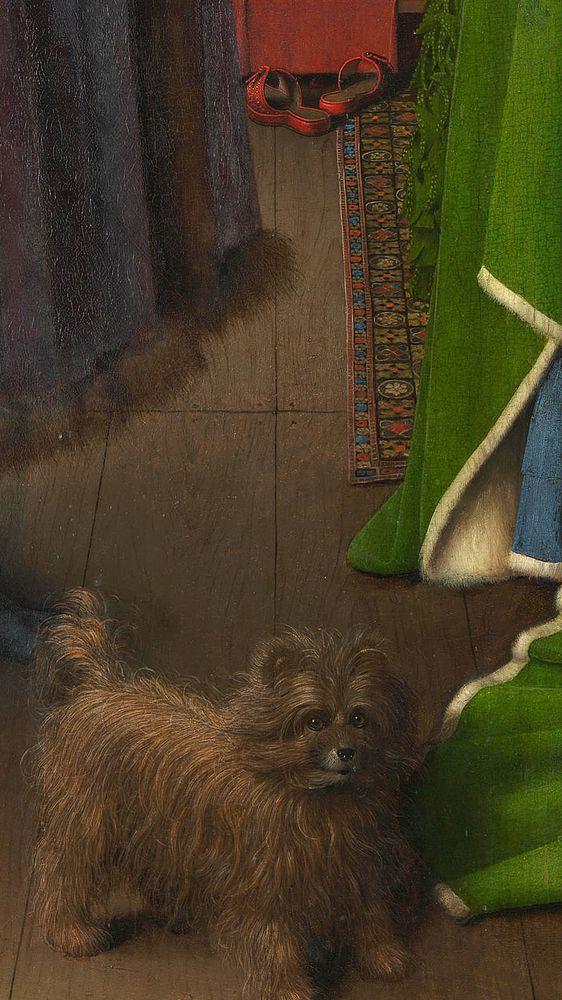 The Arnolfini Portrait (Detail)