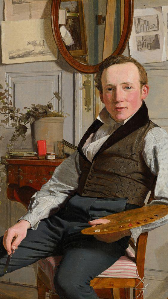 Portrait of Frederik Sødring
